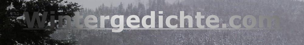 Logo Biografie Wintergedichte